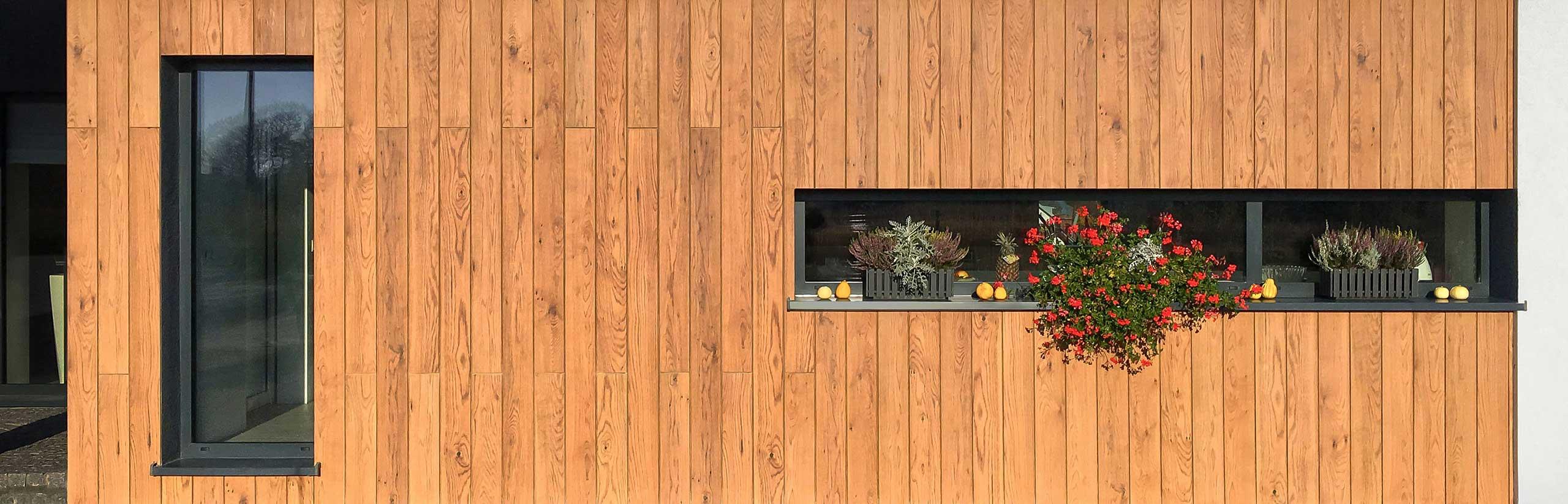 drewnopodobne listwy elewacyjne
