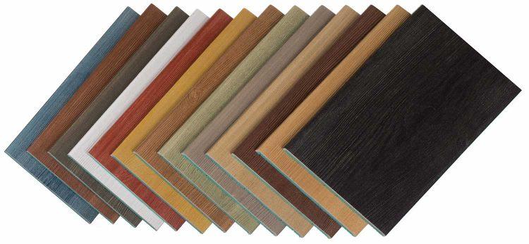 Kolory deski elewacyjnej
